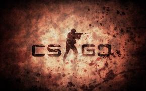 Картинка буквы, фон, игра, символы, картинка, counter strike, global offensive, cs go