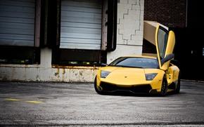 Обои 670-4, Lamborghini, Murcielago, SuperVeloce