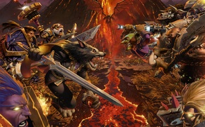 world of warcraft,worldbreaker,wow,Horde,alliance,фракции,варкрафт,Орда,альянс,расы,битва обои