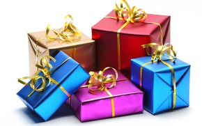 Картинка подарки, упаковка, яркая