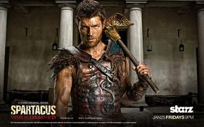 Обои Спартак, War of the damned, Spartacus