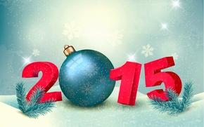 Картинка Новый Год, New Year, Happy, 2015
