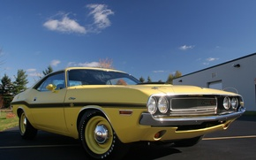 Картинка машина, Dodge, Challenger, мускул кар, классика, 426, Hemi, R/T