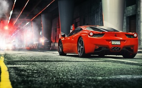 Картинка Ferrari, феррари, 458, Italia