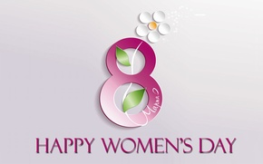 Картинка 8 марта, март, женский день, весенний праздник