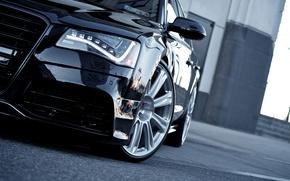 Картинка car, авто, ауди, audi, автомобиль, black, cars, auto, wallpapers auto, wallpapers audi, Audi A8