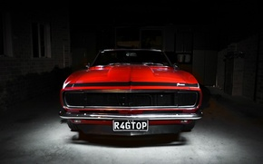 Картинка Chevrolet, Camaro, Red, шевроле, мускул кар, камаро, класскика