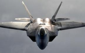 Картинка оружие, самолёт, F-22 Raptor