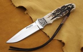 Картинка сталь, кожа, нож, knife, тисак