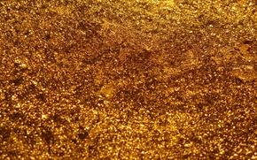 Картинка металл, сияние, золото, блеск, богатство