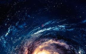 Картинка stars, cosmos, energy, galaxy