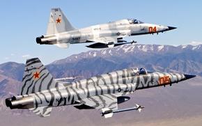 Картинка истребитель, многоцелевой, «Фридом Файтер», «Тайгер» II, Нортроп F-5
