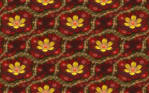 Картинка цветок, абстракция, фон, текстура
