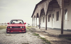 Обои фары, BMW, E30, передний
