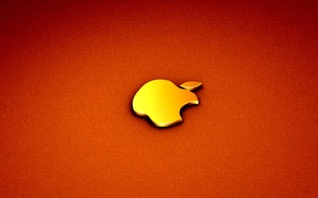 Картинка яблоко, apple, mac, компьютер, гаджет
