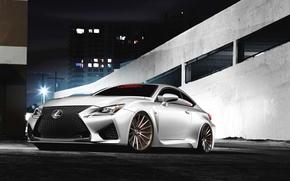 Картинка Lexus, white, front, RC F