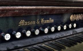 Картинка макро, музыка, орган