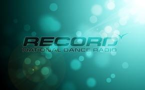 Картинка абстракции, radio record, radio, bokeh, dance
