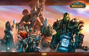 Картинка оружие, Blizzard, wow, world of warcraft, сильвана, Sylvanas Windrunner, Тралл, Орда, warchief, Vol'jin, Thrall, Вол'джин, …