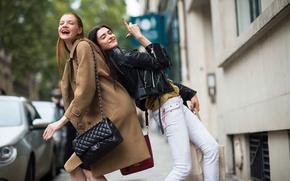 Картинка Paris, street style, fashion week, spring-2014