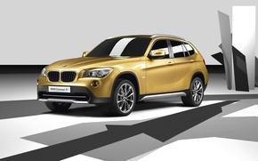 Обои Concept, E84, кроссовер, BMW, бмв