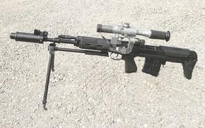 Картинка оружие, сила, патрон, винтовка, год, вооружение, 1975, снайперская, Самозарядная, ВДВ, СВД, основе, принята, разработана, 1994, …