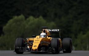 Картинка Renault, Рено, Kevin Magnussen, Передок