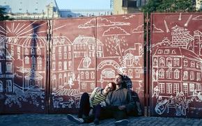 Картинка рассвет, улица, граффити, мелодрама, триллер, боевик, драма, Шайа ЛаБаф, криминал, комедия, Shia LaBeouf, The Necessary …
