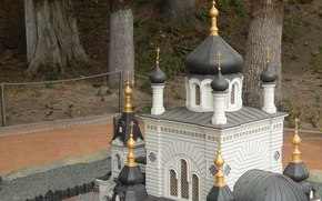 Картинка церковь, Крым, Форосская