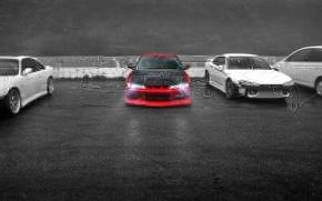 Обои авто, стоянка, Silvia, Nissan