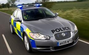 Картинка Jaguar, police