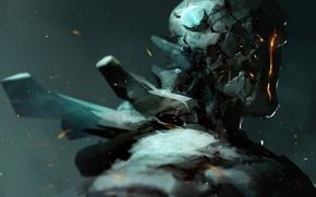 Картинка робот, robot, андроид, android, concept art