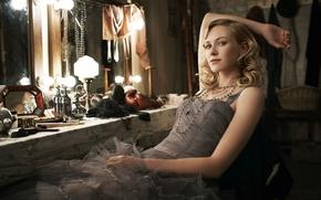 Картинка актриса, зеркало, Naomi Watts, гримёрка