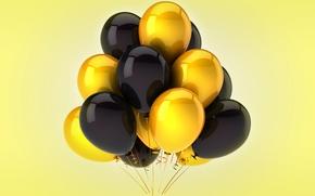 Картинка воздушные шары, celebration, holiday, balloons
