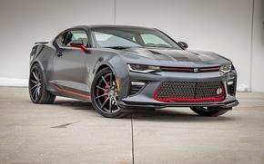 Картинка Chevrolet, Camaro, Chicago, Coupe, Blackhawks, 2016, Themed