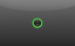 Картинка свечение, кнопка, карбон, зеленое