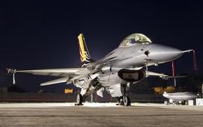 Картинка истребитель, Falcon, многоцелевой, F-16AM
