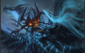 Картинка Heroes of the Storm, blizzard, warcraft, diablo, arthas, lich king