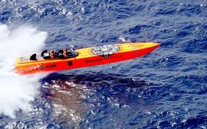 Картинка sport, sea, racing, boat, Apache Star