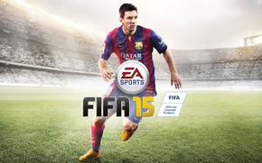 Картинка Game, EA Sports, Lionel Andrés Messi, Fifa 15, Лионель Андрес Месси