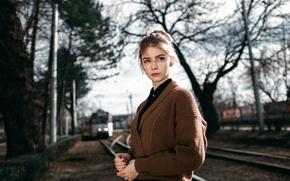Картинка девушка, прелесть, боке, Alexey Gromakov