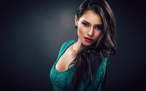 Картинка sexy, fashion, model, lady, brunette, babe, Attractive