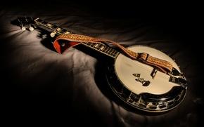 Картинка музыка, инструмент, Five-string banjo