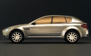 Картинка Concept, дизайн, Maserati, 2003, ItalDesign, Kubang, GT Wagon