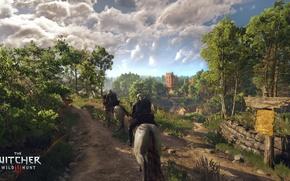 Картинка Ведьмак, The Witcher, Геральт, CD Projekt RED, The Witcher 3: Wild Hunt, Geralt, Ведьмак 3: ...