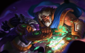 Картинка starcraft, World of Warcraft, warcraft, paladin, Zeratul, Heroes of the Storm, Dark Prelate, Uther, The …