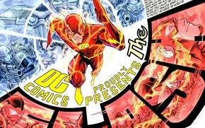 Картинка comics, flash, barry allen