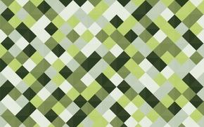 Картинка белый, зеленый, фон, текстура, салатовый, ромбы