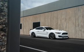 Картинка Mustang, Ford, Vorsteiner, Project, Tires, Accuair, Toyo