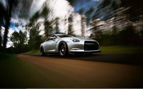 Картинка GTR, Nissan, wheels, спорткар, ниссан, stance